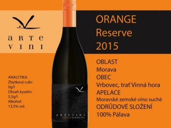 Arte Vini, Orange Reserve 2015, Premier Wines & Spirits