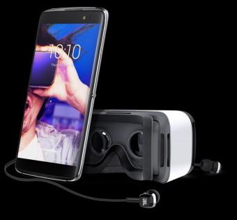 Alcatel Idol 4S, smartphone dodávaný s brýlemi pro virtuální realitu