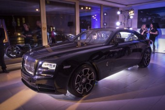 Představení vozu Wraith Black Badge, Rolls-Royce Motor Cars Prague