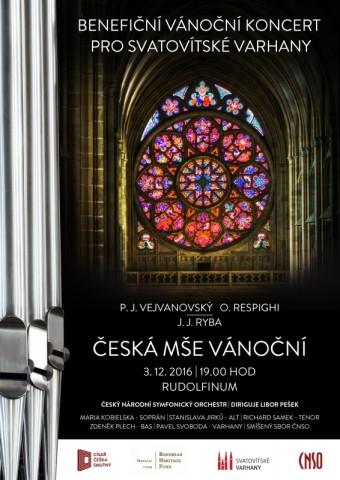 Benefiční koncert pro svatovítské varhany