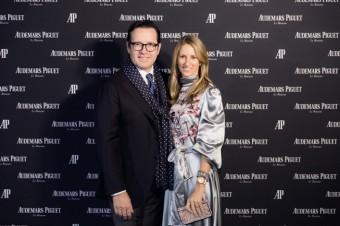 Generální ředitel François-Henry Bennahmias a návrhářka šperků Carolina Bucci, Audemars Piguet, foto: Luxury Brand Management