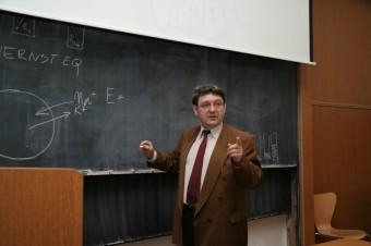Neurofyziolog profesor František Vyskočil