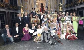 Herci a tvůrci muzikálu Mefisto, foto: Muzikál Mefisto
