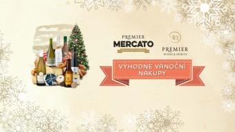 Vánoční nákupy v bistru Premier Mercato, Premier Wines & Spirits