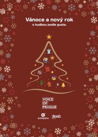 Rádia Expres FM a Classic Praha budou o Vánocích vysílat bez reklam, Voice of Prague