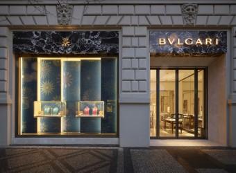 V Praze byl otevřen nový butik BVLGARI, kredit: www.bulgari.com