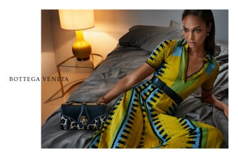 Bottega Veneta, kampaň pro jaro/léto 2017, Joan Smalls, foto: Luxury Brand Management