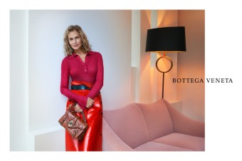 Bottega Veneta, kampaň pro jaro/léto 2017, Lauren Hutton, foto: Luxury Brand Management