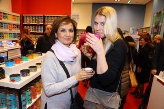 Veronika Freimanová s dcerou Terezou Brabcovou, foto: Kusmi Tea/Chodov