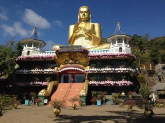 Chrám Dambulla, Žofia na Srí Lance, zdroj: Exclusive Tours