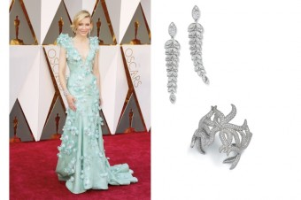 Cate Blanchett, Tiffany High Jewelry, Tiffany & Co.