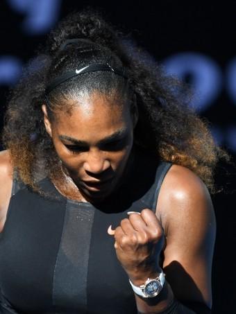 Vítězná Serena.