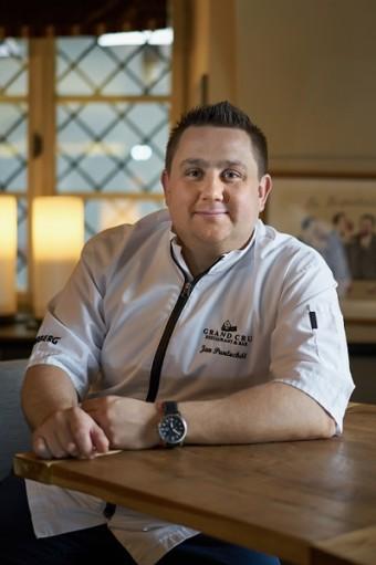 Jan Punčochář, šéfkuchař v Grand Cru, už se postaral o mnoho gastronomických zážitků.
