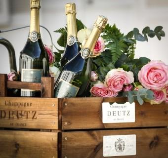 Šampaňské na Valentýna, co víc si přát.