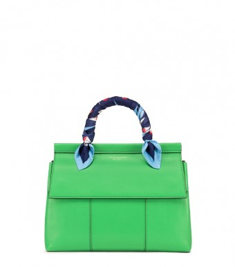 T-Satchel in Court Green Royal Navy
