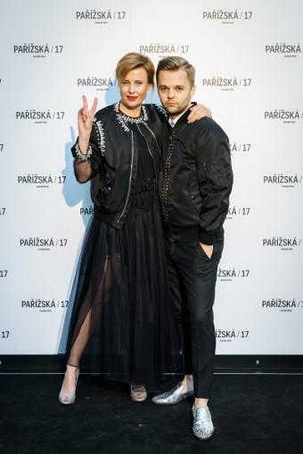 Jitka Schneiderová nezklamala se svým lookem od Givenchy.
