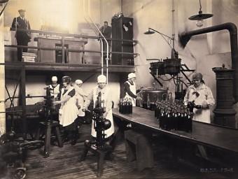 Výroba Fernetu.