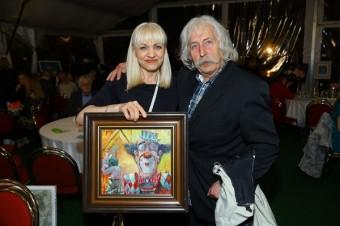 Marie Vejvodová vydražila obraz.