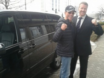 Svého šoféra nepostrádá ani slavný herec Jean-Claude Van Damme.
