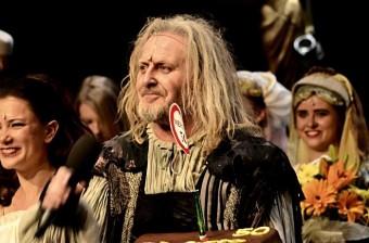 Oceněný Mefisto Josef Vojtek.