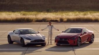 Lexus LC vs. Aston Martin, foto zdroj: Toyota