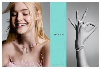 Elle Fanning, kampaň There´s Only One, Tiffany & Co.