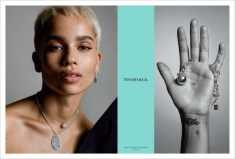 Zoë Kravitz, kampaň There´s Only One, Tiffany & Co.