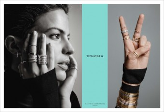 Cameron Russell, kampaň There´s Only One, Tiffany & Co.