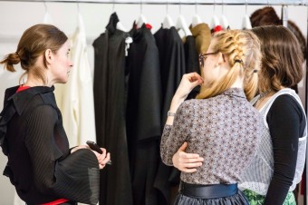MBPFW, See Showroom supported by Nespresso & ELLE FW17 Daniela Pešková
