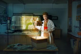 Projekt Ozvěny budoucnosti: Multiprojektové přední sklo, foto: ŠKODA AUTO