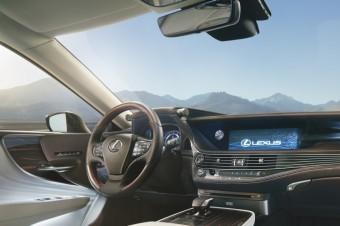 Model Lexus LS 500h, Toyota
