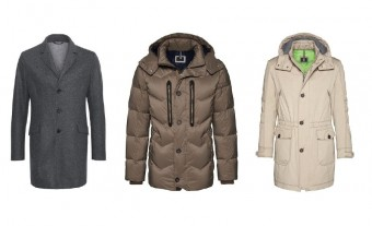 Kabáty, Bogner Man: kolekce podzim-zima 2017