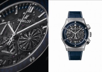Hublot: hodinky Classic Fusion Aerofusion Chronograph Mykonos Edition