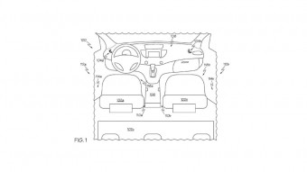 Under Seat Capture Device Patent, foto: Toyota