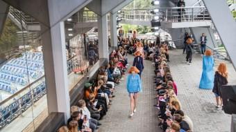 Zoltán Tóth, vítěz soutěže VAN GRAAF Junior Talent 2017, kolekce jaro-léto 2018, Mercedes-Benz Prague Fashion Week, foto: MBPFW