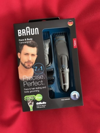 Vyhrajte 7 v 1 – Braun Face & Head Trimming kit + strojek Gillette Body zdarma