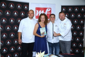 Markéta a kuchaři J.Kvasnička, J. Punčochář a M. Kalina, foto: MF, a.s. a La Casa Argentina