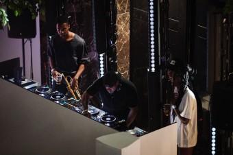 Rudimental DJ set v National Gallery, COS oslavil 10 let