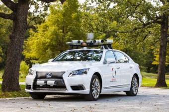 Autonomní řízení, zdroj: Toyota Newsroom