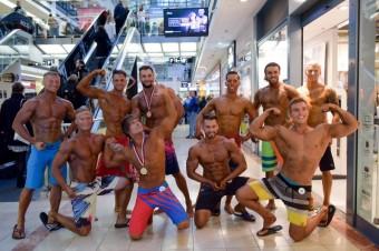 Men's physique, Fashion & Fitness v obchodním centru Atrium Flora