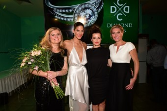 Erika Lori a její VIP modelky, foto: Diamond Club