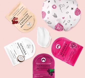Sephora Collection: noční masky na vlasy, Made in Sephora
