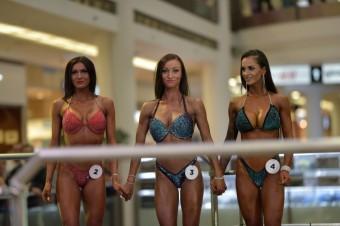 Soutěž Men's physique a Bikiny fitness v Atriu Flora má své výherce