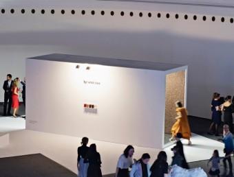 Interaktivní instalace světa kávy Nespresso na Designbloku 2017