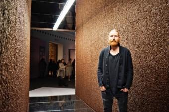 Henry Wielgus, jeden z autorů instalace světa kávy Nespresso na Designbloku 2017