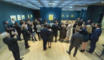 Značka BVLGARI slaví ve Van Goghově muzeu, foto © Getty Images