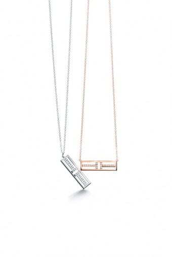 Tiffany T Two Open Vertical & Horizontal Bar Pendant