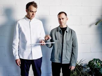 Alex Mustonen and Daniel Arsham, zakladatelé Studia Snarkitecture, COS