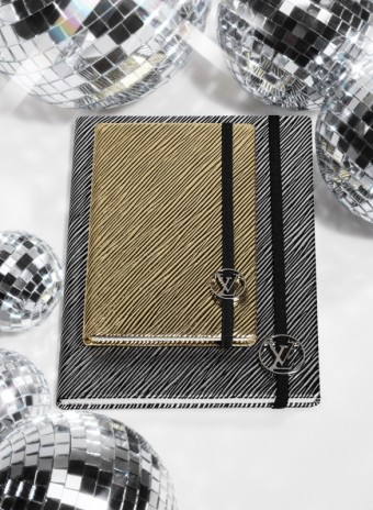 Notebooky, kůže Épi, zlato a stříbro, Louis Vuitton