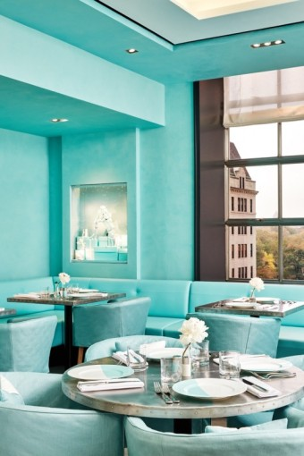 Kavárna Blue Box Café, Tiffany & Co.